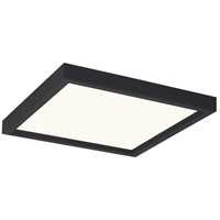 Quoizel OST1611EK Outskirts LED 11 inch Earth Black Flush Mount Ceiling Light
