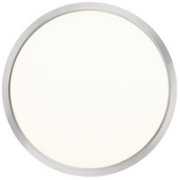 Quoizel OST1715BN Outskirt LED 15 inch Brushed Nickel Flush Mount Ceiling Light alternative photo thumbnail