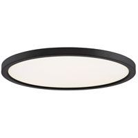 Quoizel OST1720OI Outskirt LED 20 inch Oil Rubbed Bronze Flush Mount Ceiling Light