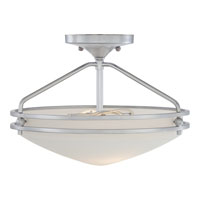 Quoizel Lighting Ozark 2 Light Semi-Flush Mount in Polished Chrome OZ1713C alternative photo thumbnail