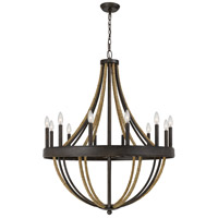 Quoizel PB5012TK Pembroke 12 Light 32 inch Tarnished Bronze Chandelier Ceiling Light