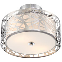 Quoizel PCAE1712C Platinum 2 Light 12 inch Polished Chrome Semi-Flush Mount Ceiling Light  alternative photo thumbnail
