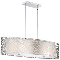 Quoizel PCAE536C Platinum Abode 5 Light 36 inch Polished Chrome Island Chandelier Ceiling Light, Oval