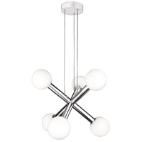 Quoizel PCAF5006C Platinum Affinity LED 20 inch Polished Chrome Chandelier Ceiling Light