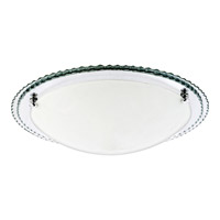 Quoizel Platinum Avanti 3 Light Flush Mount in Polished Chrome PCAT1617C