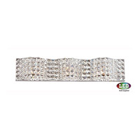 Platinum Alexa LED 25 inch Polished Chrome Bath Light Wall Light in Frosted LED G9
