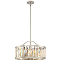 Platinum Ballet 5 Light 21 inch Brushed Nickel Pendant Ceiling Light