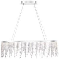 Quoizel PCBN136C Platinum Borderline LED Polished Chrome Island Chandelier Ceiling Light