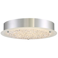 Quoizel PCBZ1612C Platinum Blaze LED 12 inch Polished Chrome Flush Mount Ceiling Light