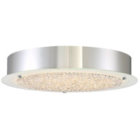 Platinum Blaze LED 16 inch Polished Chrome Flush Mount Ceiling Light
