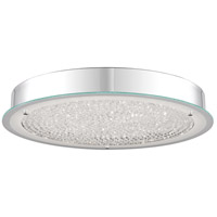 Quoizel PCBZ1620C Blaze LED 20 inch Polished Chrome Flush Mount Ceiling Light Large
