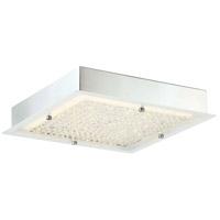 Quoizel PCBZ1712C Platinum Blaze LED 12 inch Polished Chrome Flush Mount Ceiling Light