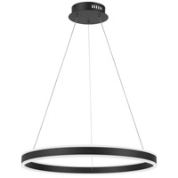 Quoizel PCCA1824EK Cadence LED 24 inch Earth Black Pendant Ceiling Light