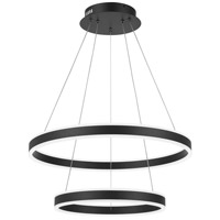 Quoizel PCCA2824EK Cadence LED 24 inch Earth Black Pendant Ceiling Light
