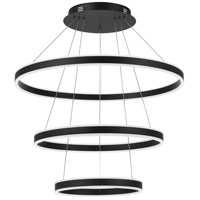 Quoizel PCCA2831EK Cadence LED 32 inch Earth Black Pendant Ceiling Light