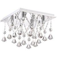 Quoizel PCCD1613C Platinum Crystal Drape 4 Light 13 inch Polished Chrome Flush Mount Ceiling Light alternative photo thumbnail