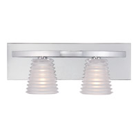 Quoizel Platinum Cosmic 2 Light Bath Light in Polished Chrome PCCI8602C