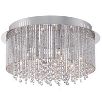 Quoizel Platinum Countess 9 Light Flush Mount in Polished Chrome PCCT1616C