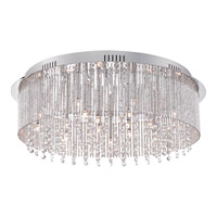 Quoizel Platinum Countess 18 Light Flush Mount in Polished Chrome PCCT1623C