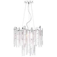 Platinum Daybreak 4 Light 19 inch Polished Chrome Pendant Ceiling Light