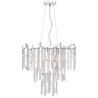 Platinum Daybreak 7 Light 27 inch Polished Chrome Foyer Chandelier Ceiling Light
