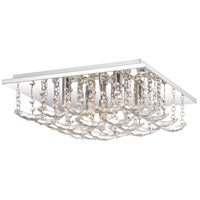 Quoizel PCDT1615C Daylight 5 Light 15 inch Polished Chrome Flush Mount Ceiling Light