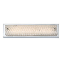 Quoizel Platinum Endless LED Bath Light in Polished Chrome PCED8517C