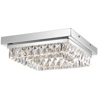 Embrace LED 14 inch Polished Chrome Flush Mount Ceiling Light