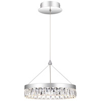 Quoizel PCEO1513C Encore LED 13 inch Polished Chrome Mini Pendant Ceiling Light