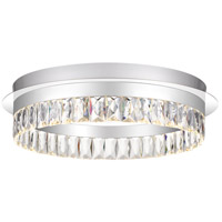 Quoizel PCEO1618C Encore LED 18 inch Polished Chrome Flush Mount Ceiling Light