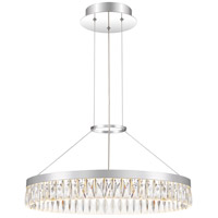 Quoizel PCEO2823C Encore LED 24 inch Polished Chrome Pendant Ceiling Light
