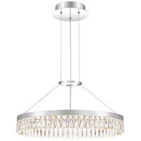 Quoizel PCEO2823C Encore LED 24 inch Polished Chrome Pendant Ceiling Light