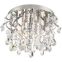Platinum Enrapture 8 Light 18 inch Polished Chrome Bath Light Wall Light