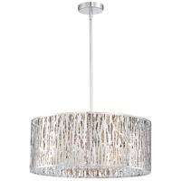 Quoizel PCGO1822C Platinum Grotto 8 Light 22 inch Polished Chrome Semi-Flush Mount Ceiling Light