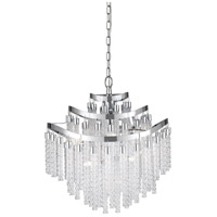 Quoizel PCGP2820C Platinum Glacier Peak 11 Light 21 inch Polished Chrome Pendant Ceiling Light