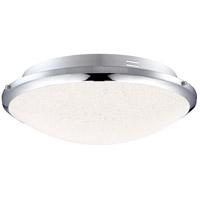 Quoizel PCGR1615C Platinum Glimmer LED 13 inch Polished Chrome Flush Mount Ceiling Light