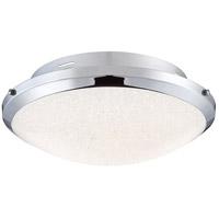 Quoizel PCGR1617C Platinum Glimmer LED 17 inch Polished Chrome Flush Mount Ceiling Light