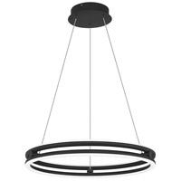 Quoizel PCGVS2820MBK Graves LED 20 inch Matte Black Pendant Ceiling Light
