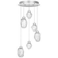 Hailstone LED 16 inch Polished Chrome Pendant Ceiling Light