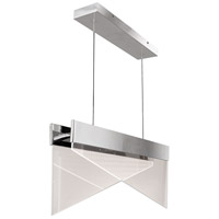 Quoizel PCIM130C Platinum Impusle LED 30 inch Polished Chrome Island Chandelier Ceiling Light