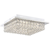 Platinum Infinity 13 inch Polished Chrome Flush Mount Ceiling Light