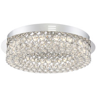 Platinum Infinity 16 inch Polished Chrome Flush Mount Ceiling Light