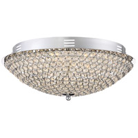 Quoizel PCIN1716C Platinum Infinity LED 16 inch Polished Chrome Flush Mount Ceiling Light