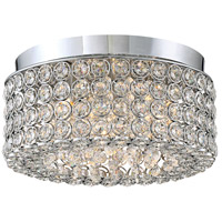 Platinum Identity 4 Light 11 inch Polished Chrome Flush Mount Ceiling Light