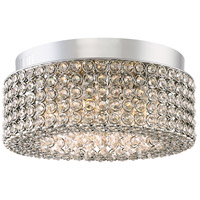 Platinum Identity 6 Light 16 inch Polished Chrome Flush Mount Ceiling Light
