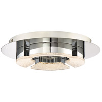 Platinum Lunette LED 12 inch Polished Chrome Flush Mount Ceiling Light