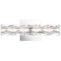 Quoizel PCLU8515C Luster LED 15 inch Polished Chrome Vanity Light Wall Light