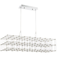 Quoizel PCLY140C Platinum Labyrinth LED 40 inch Polished Chrome Island Chandelier Ceiling Light