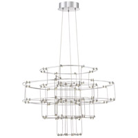 Quoizel PCLY2824C Platinum Labyrinth LED 27 inch Polished Chrome Pendant Ceiling Light