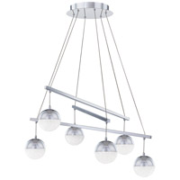 Quoizel PCMM5030C Momentum LED 30 inch Polished Chrome Chandelier Ceiling Light